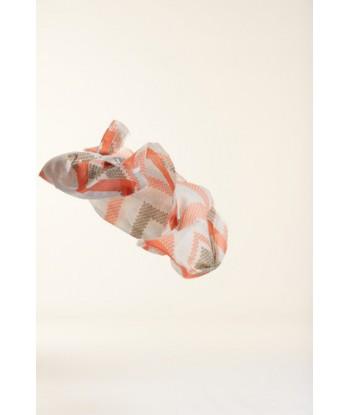 Sjaal in zomerse kleuren Her.