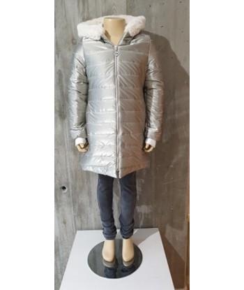 GYMP zilveren winterjas