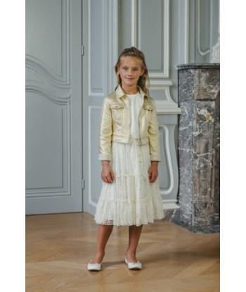 GYMP  gouden jas met textuur