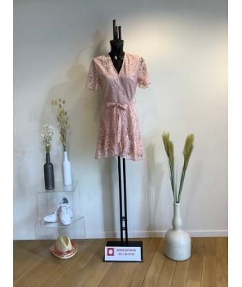 MIRACLES korte jurk in roze...