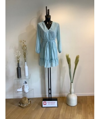 MIRACLES korte aqua jurk