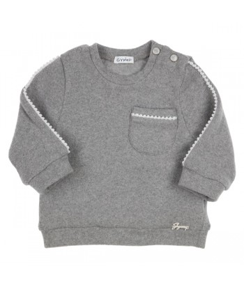 GYMP grijze sweater