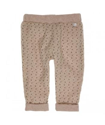 GYMP bruine broek met fijne...