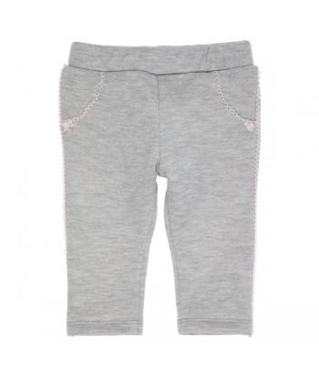 GYMP grijze broek met roze...