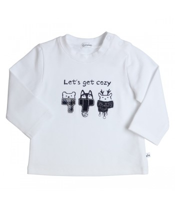 GYMP witte t-shirt let's...