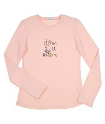 GYMP roze t-shirt love you...