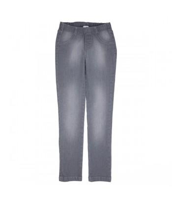 GYMP grijze jeans op elastiek