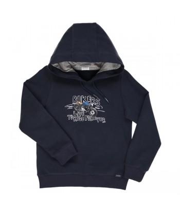 GYMP donkerblauwe sweater...