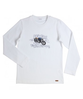 GYMP witte t-shirt bikers